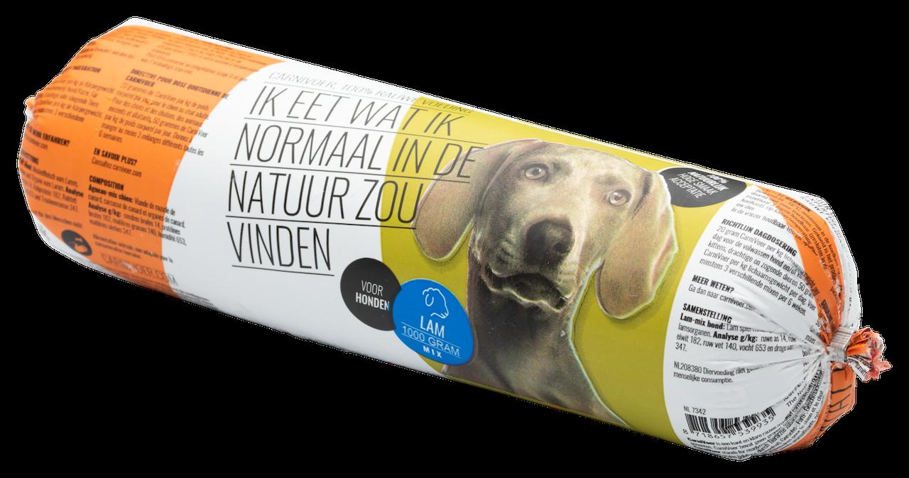 Lam mix carnivoor kvv hond